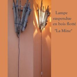 "Lampe suspendue ""La Mine"""